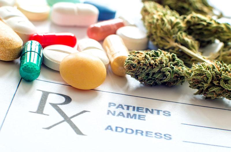 Cannabis vs alternative Schmerzmittel